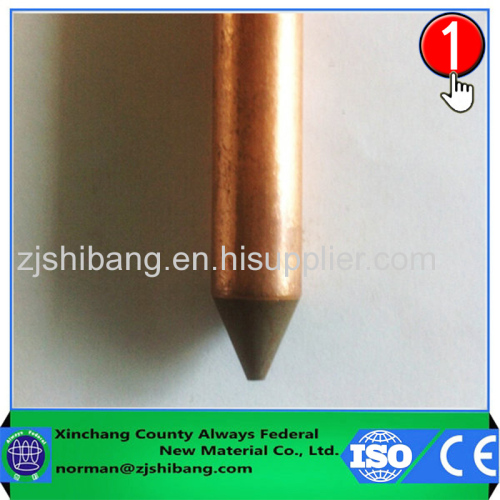 Copper Coated Stick For Earthing Solutions
