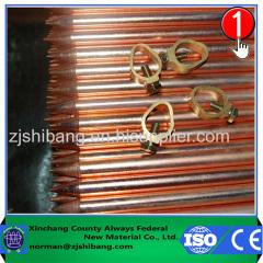 Cobre Electrical Terra Rod de Proteção contra Descargas Atmosféricas