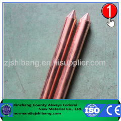 High Quality Pure Copper Ground Rod