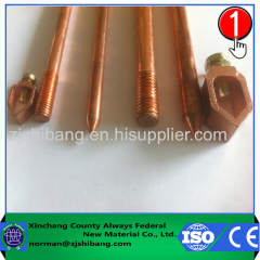 High voltage ground rod