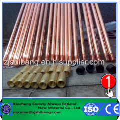 Built-in Threaded Copper Bonded terra Rod