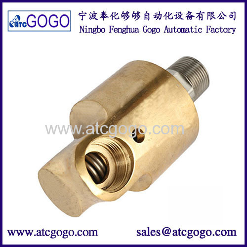 High spend water rotary joint union 100 degree high temperature connector