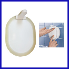 Home Washroom Suck WALL SOAP DISPENSER Sanitizer Bathroom Shower Shampoo Dispenser