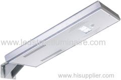 LED Factory Price Durable Aluminum Integrated Solar Street Lights/All In One Solar Street Light