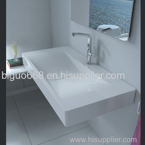 Solid Surface Bathroom Countertops Bav 001 Manufacturer From China