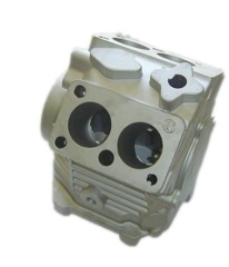 Compressor cylinder for truck air conditioner
