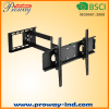 Single Arm swivel tv wall mount for Plasma LCD LED TVs
