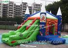 Commercial Wizard Childrens Bouncy Castle With Slide For Parks , Garden