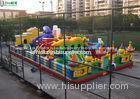 Outdoor Childrens Inflatable Games Giant Inflatable Amusement Park