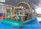 Army Style Commercial Inflatable Obstacle Course For Outdoor Use