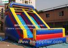 17' High Front Load Huge Commercial Inflatable Slides For Outdoor Use