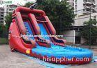 17 inch High Outdoor Commercial Inflatable Water Slides For Parties , Pirate Theme