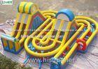 Outdoor Activities And Entertainment Inflatable Obstacle Course For Adults