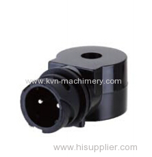 Solenoid coil spiral coil