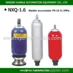 1.6L 31.5MPa 10Mpa 20Mpa bladder accumulator