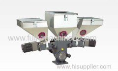 plastic injection extrusion color dose mixer