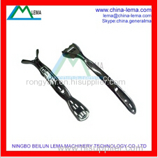 Zinc alloy die casting razor handle