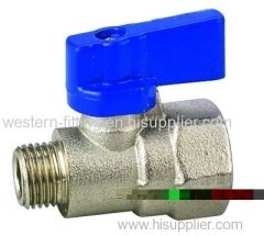 Pneumatic Fitting Brass Forged Body Valve