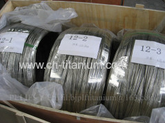 Dia3.175mm ASTM Gr5 titanium wire for 3D print