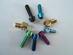 Titanium fasteners screws bolts nuts washers