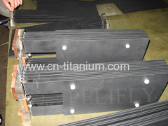 MMO titanium anode sheet for seawater treatment Titanium anode for sodium hypochlorite generator