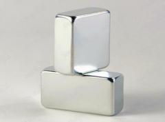 Neodymium nicole coated block ndfeb magnet