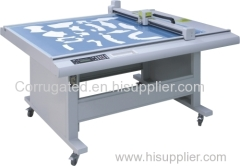 Traffic sign sample maker cutting machine