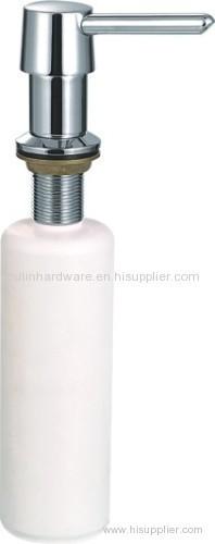 Brass soap dispenser for plumbing tools