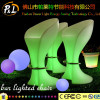 Illuminated Rechargeable Plastic Bar Stools
