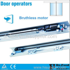 Automatic Commercial Glass Entry Door System