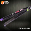 Professional hair straightener flat iron with ceramic coating plates