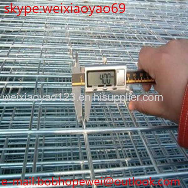 top quality 2x2 metal fence panels for cage /galvanized welded wire ...