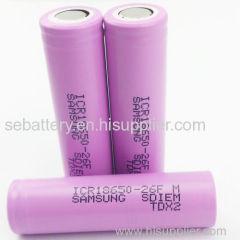 samsung li ion battery 18650