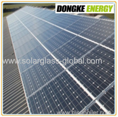 extra white solar panel coating glass