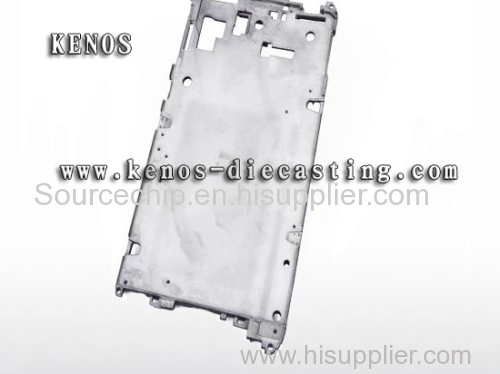 Cell phone alloy shell light alloy die casting