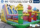 Inflatable Trampoline Kids Inflatable Slides Animal Inflatable Double Lane Slip Slide