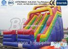 Hot Double Lane Slip Kids Inflatable Slides Inflatable Slide Bouncy Slide For Kids