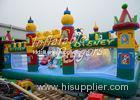 PVC Large Inflatable Fun City For Parties , Playground Inflatable Bouncer Combo