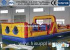 Commercial Challenging Inflatable Obstacle Trampoline For Kids Games