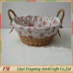 Eco-friendly pure handmade willow basket wicker with Certification