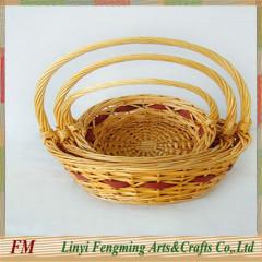 The Handmade Stain Romantic Theme Lace Wedding Flower Basket