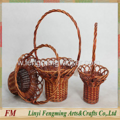 Europe style Beauitful wicker basket for flower party