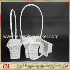 Gift willow basket wicker flower basket