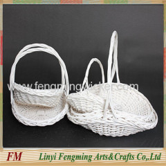 Wedding Decorative flower wicker baskets