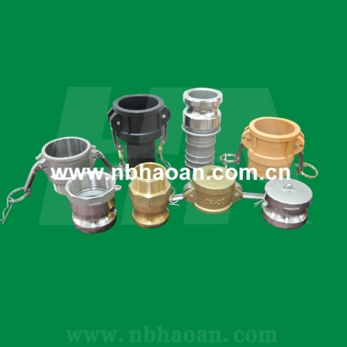 camlock coupling (cam and groove coupling)