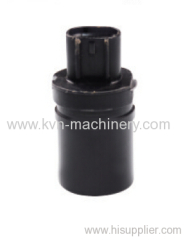 Solenoid coil outlet type solenoid valve
