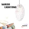 Coffee Shop resin pendant lights indoor decorative E27 hanging lamp LED optional source