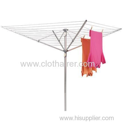 aluminum 4 arms rotary airer