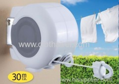 30m 2 line retractable washing airer