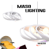 Shell Cover Resin Material Pendant Lamp for Indoor Decoration Dinning Room Lighting